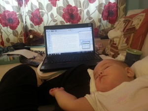 Writing with Baby2
