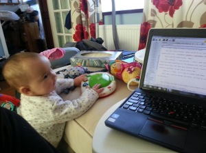 Writing with Baby3