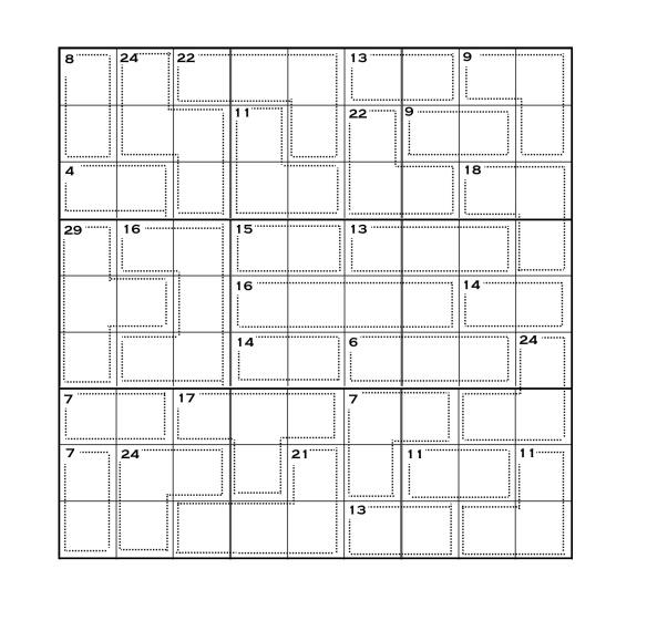 Killer Sudoku 3