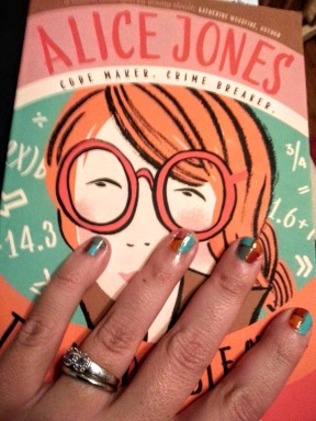Book Cover Nails!